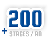 plus de 200 stages par an
